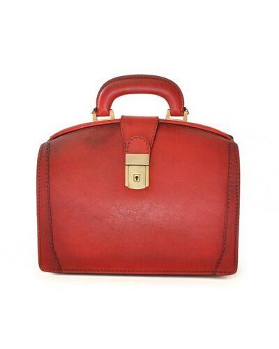 Pratesi Miss Brunelleschi handbag - B120/29T Bruce Cherry