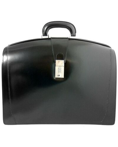 Pratesi Brunelleschi briefcase - R120 Radica Black