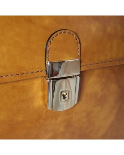 Pratesi Piccolomini briefcase - R604 Radica Brown