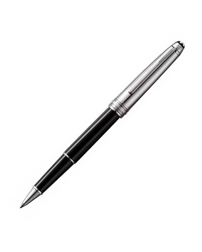 Montblanc Rollerball Meisterstück collection Solitaire Doué Stainless Steel - MB23363