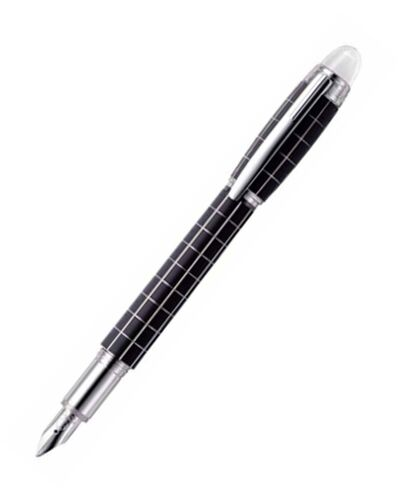 Montblanc Fountain pen Starwalker Platinum Metal/Natural rubber - MB8854