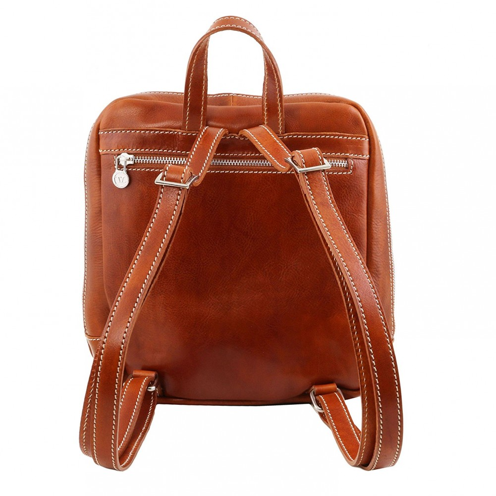 Tuscany Leather Manila - Zaino in pelle Miele - TL141557/3