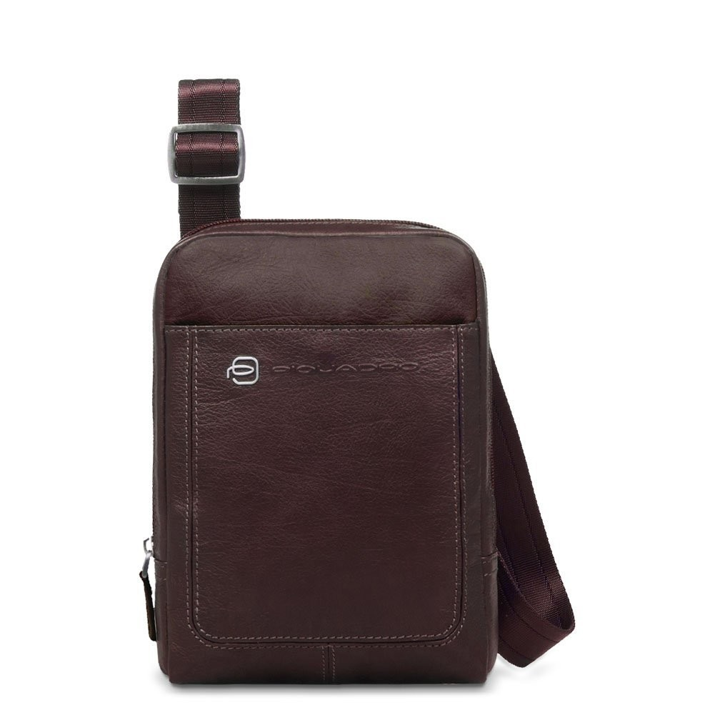 piquadro vibe organised shoulder pocketbook with ipad mini