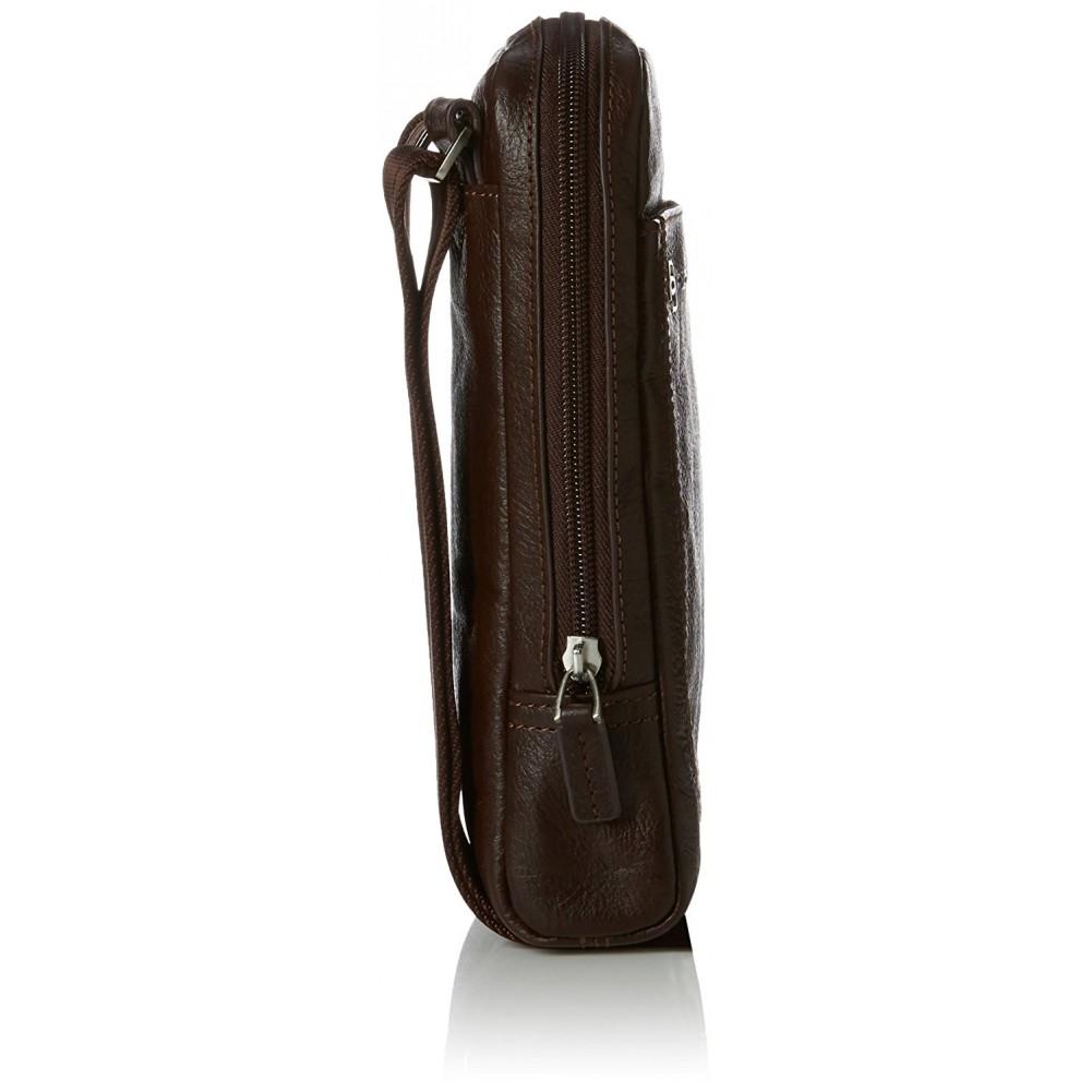 Piquadro Vibe borsello con porta iPad mini, Testa di Moro - CA3084VI/TM
