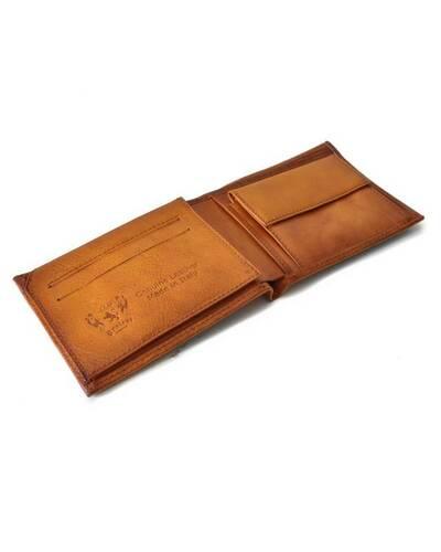 Pratesi Giardino di Archimede portafoglio da uomo - B403 Bruce Cognac