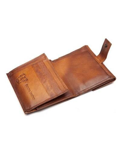 Pratesi Palazo Taglieschi portafoglio da uomo - B416 Bruce Cognac