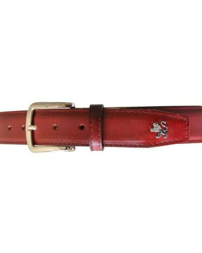 Pratesi belt - B003 Bruce Cherry