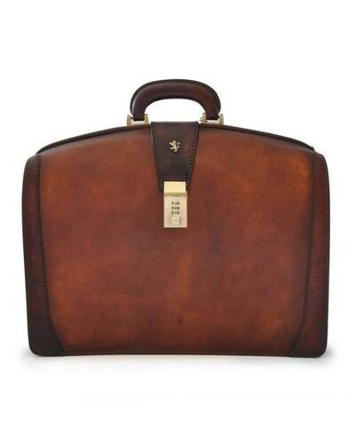Pratesi Brunelleschi briefcase for laptop - B120 Bruce Brown