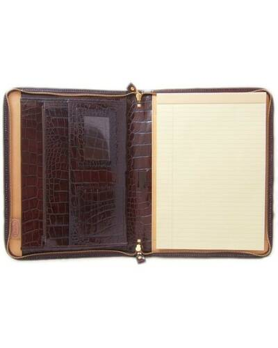 Pratesi Dante portfolio for block-notes - K032 King Brown