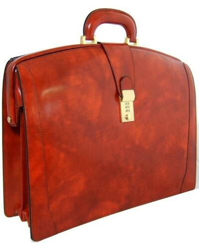 Pratesi Brunelleschi briefcase - R120 Radica Brown