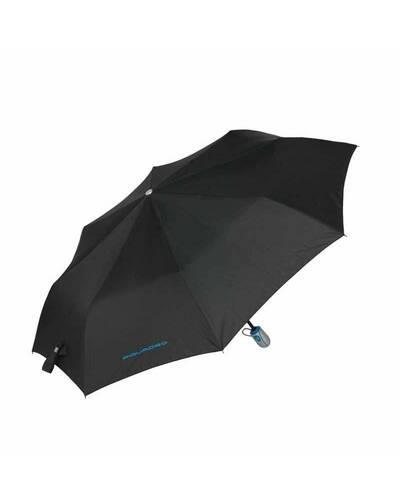 Piquadro Signo pocket open/close umbrella, Black - OM3770OM2/N