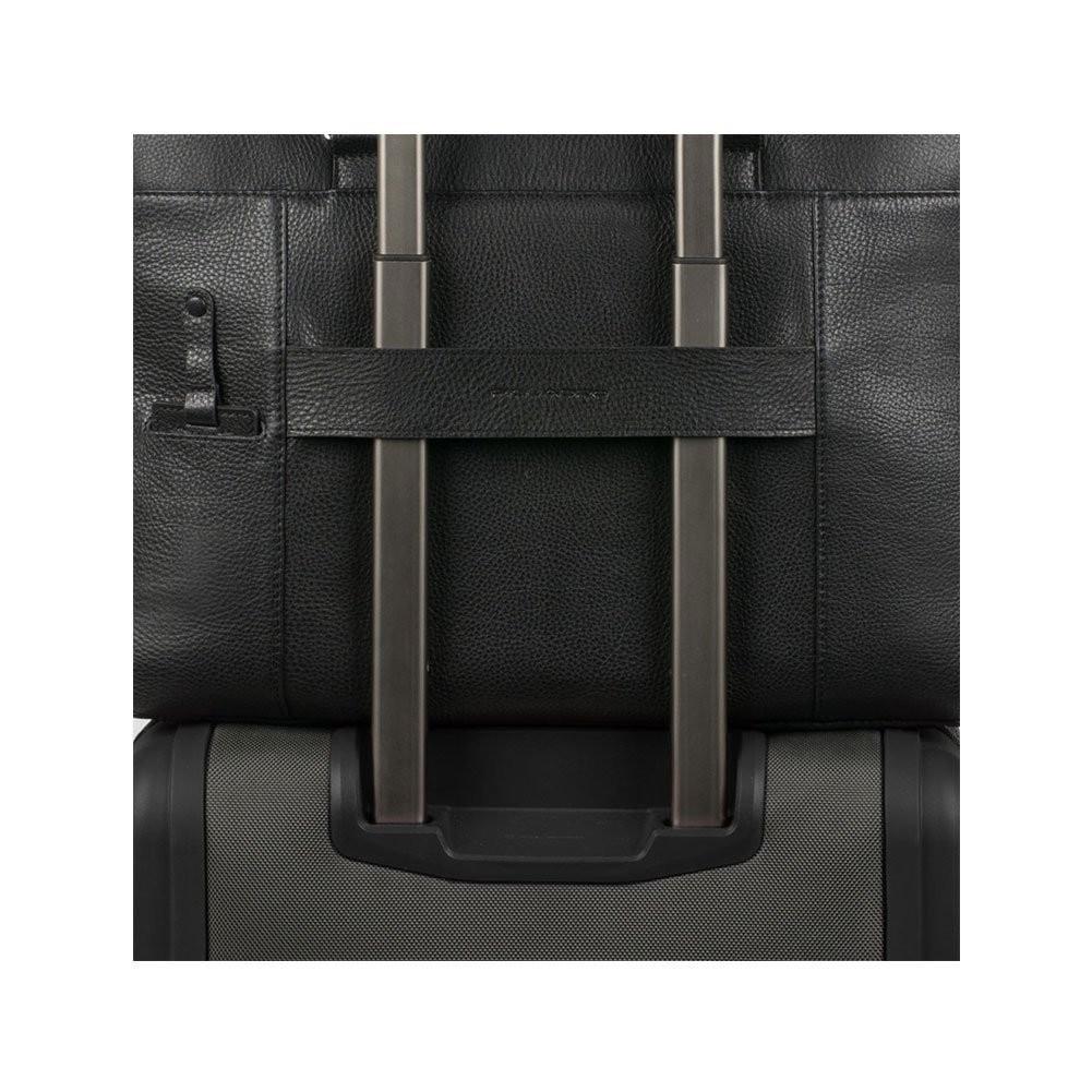 Piquadro Modus Cartella porta computer e porta iPad®Pro/Air/Air2, Nero - CA3335MO/N