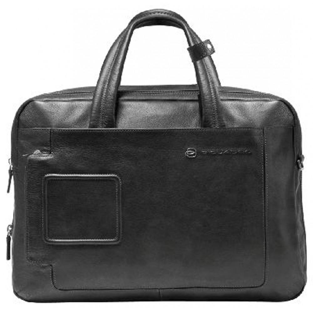 Piquadro expandable computer portfolio briefcase with ipad for Piquadro amazon