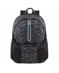 Piquadro Coleos zaino porta PC e porta iPad®Air/Pro 9,7 con placca USB e micro-USB, Nero - CA2943OS37/N