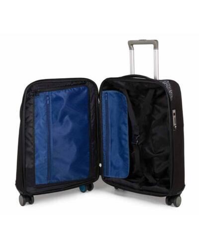 Piquadro BagMotic trolley cabina porta PC e iPad® con manico-bilancia e battery pack, Nero - BV3849BM/N