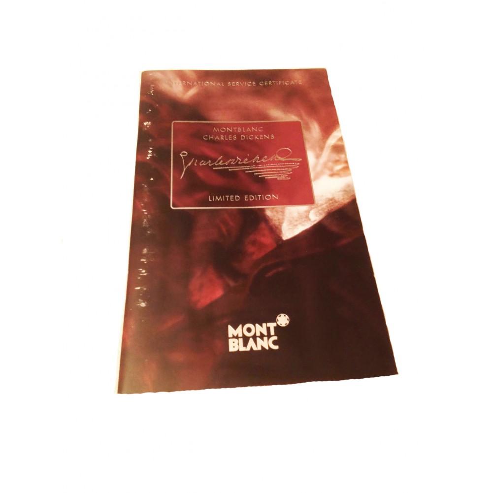 Montblanc Meisterstück Stilografica Writers Edition Charles Dickens - MB6355