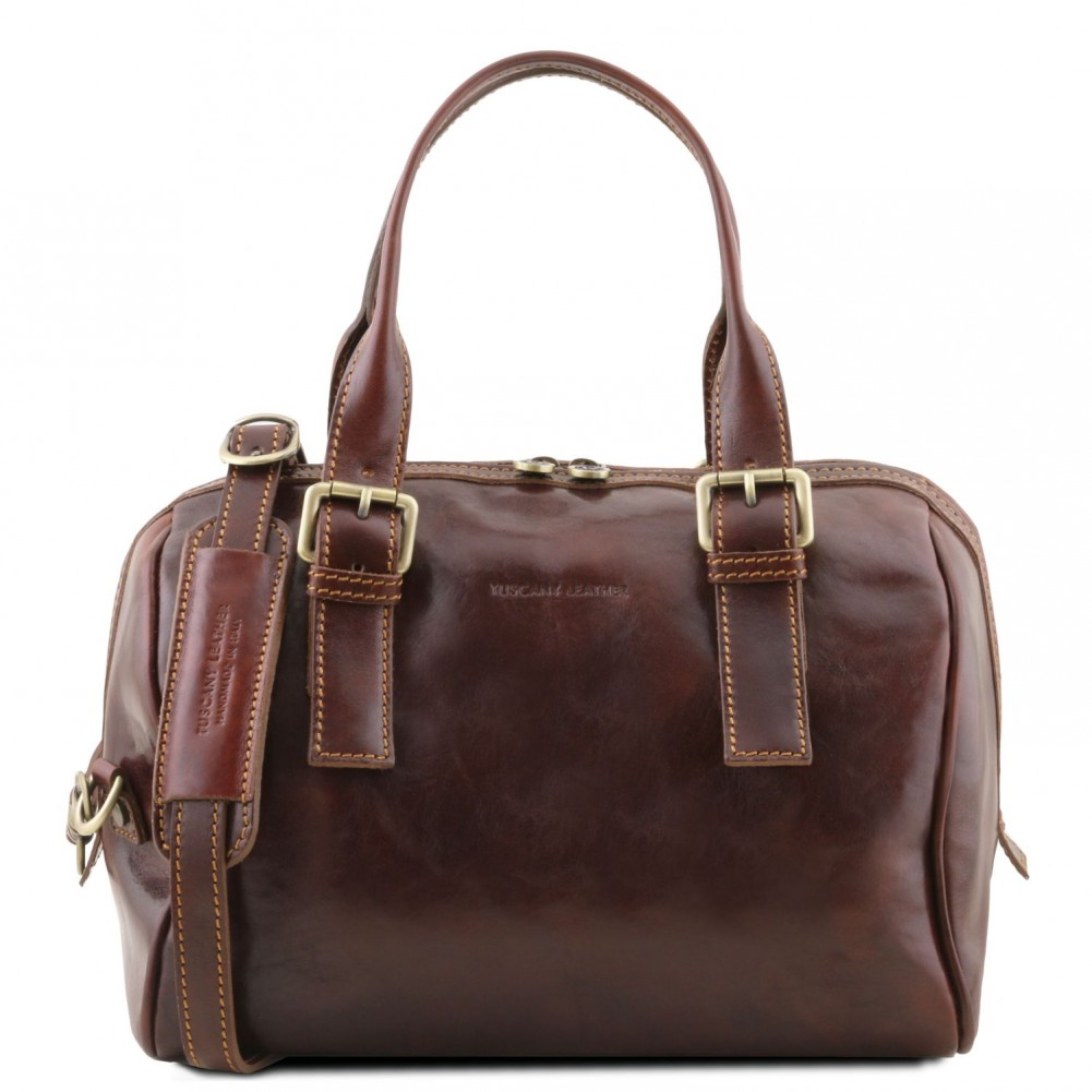 Tuscany Leather Eveline Bauletto in pelle Marrone - TL141714/1