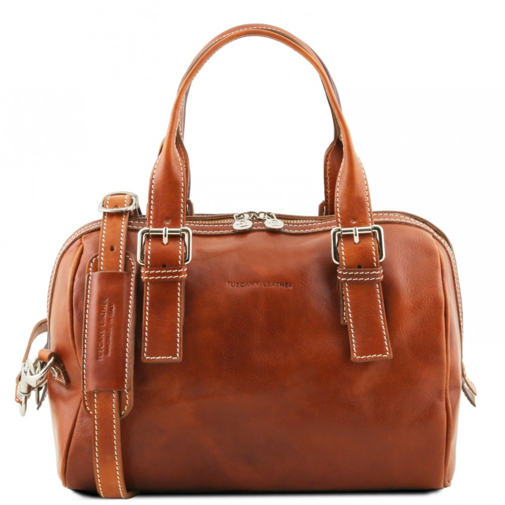 Tuscany Leather Eveline Bauletto in pelle Miele - TL141714/3