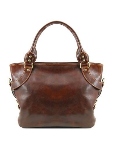 Tuscany Leather - Ilenia - Borsa a spalla Marrone - TL140899/1