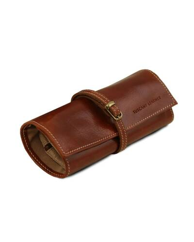 Tuscany Leather Exclusive Leather Jewellery case Brown - TL141621/1