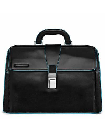 Piquadro Blue Square doctor's bag, Black - CA2007B2/N