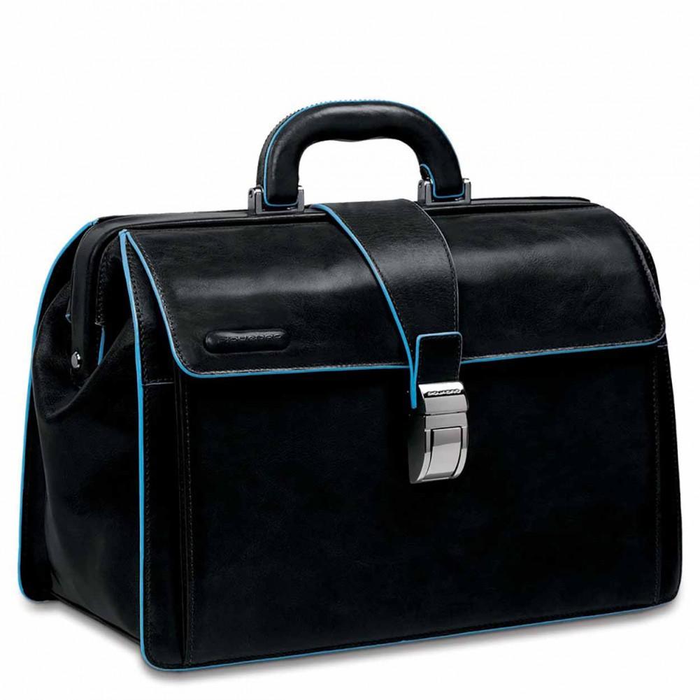Piquadro Blue Square borsa da dottore, Nero - CA2007B2/N