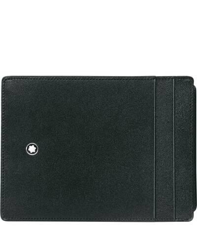 Montblanc Meisterstück custodia tascabile 4 scomparti con portadocumento, Nero - MB02665