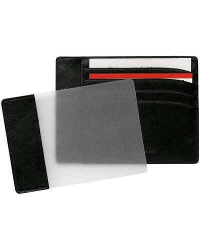 Montblanc Meisterstück Pocket 4cc with ID Card Holder, Black - MB02665