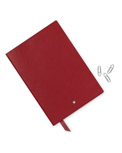 Montblanc Meisterstuck 146 blocco note a righe, Rosso - MB113294/R
