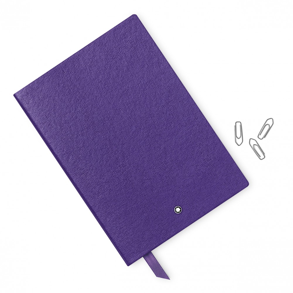 Montblanc Meisterstuck 146 blocco note a righe, Viola - MB113294/VI