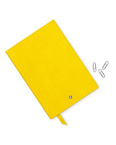 Montblanc Meisterstuck 146 notebook, lined, Yellow - MB113294/GI