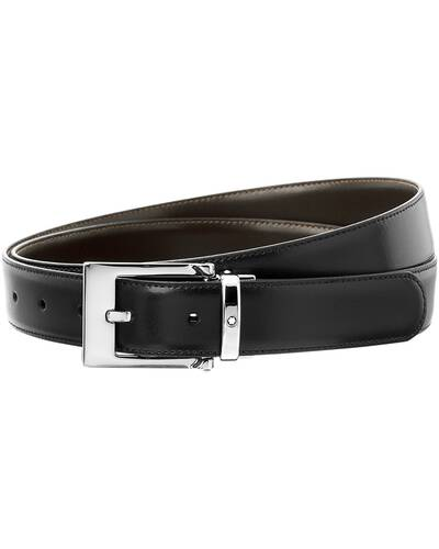 Montblanc reversible cut-to-size business belt, Black/Brown - MB09774