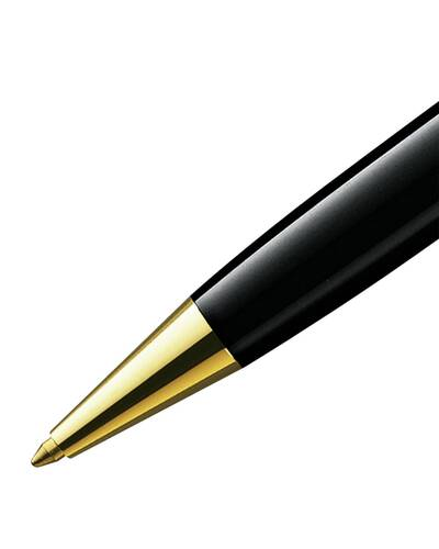 Montblanc Meisterstück penna a sfera Gold-Coated Classique, Nero - MB10883