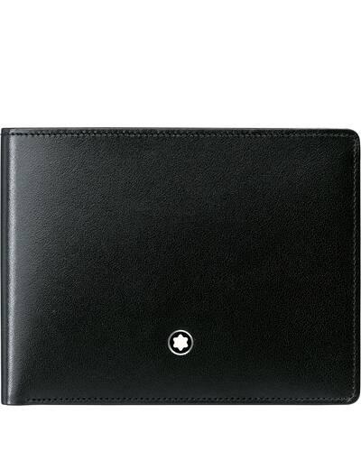Montblanc Meisterstuck portafoglio 6 scomparti, Nero - MB14548