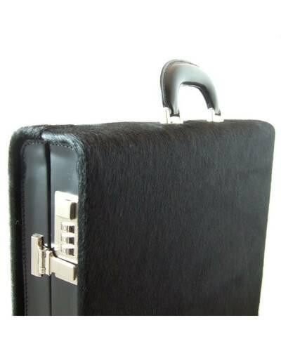Pratesi Machiavelli attache case - C317/7 Cavallino Black