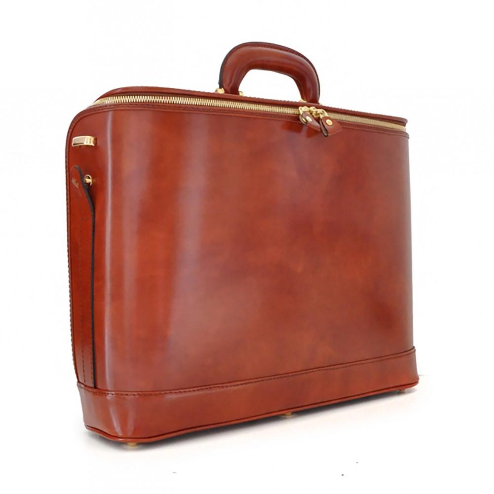 Pratesi Raffaello valigetta porta PC - B116/17 Bruce Marrone