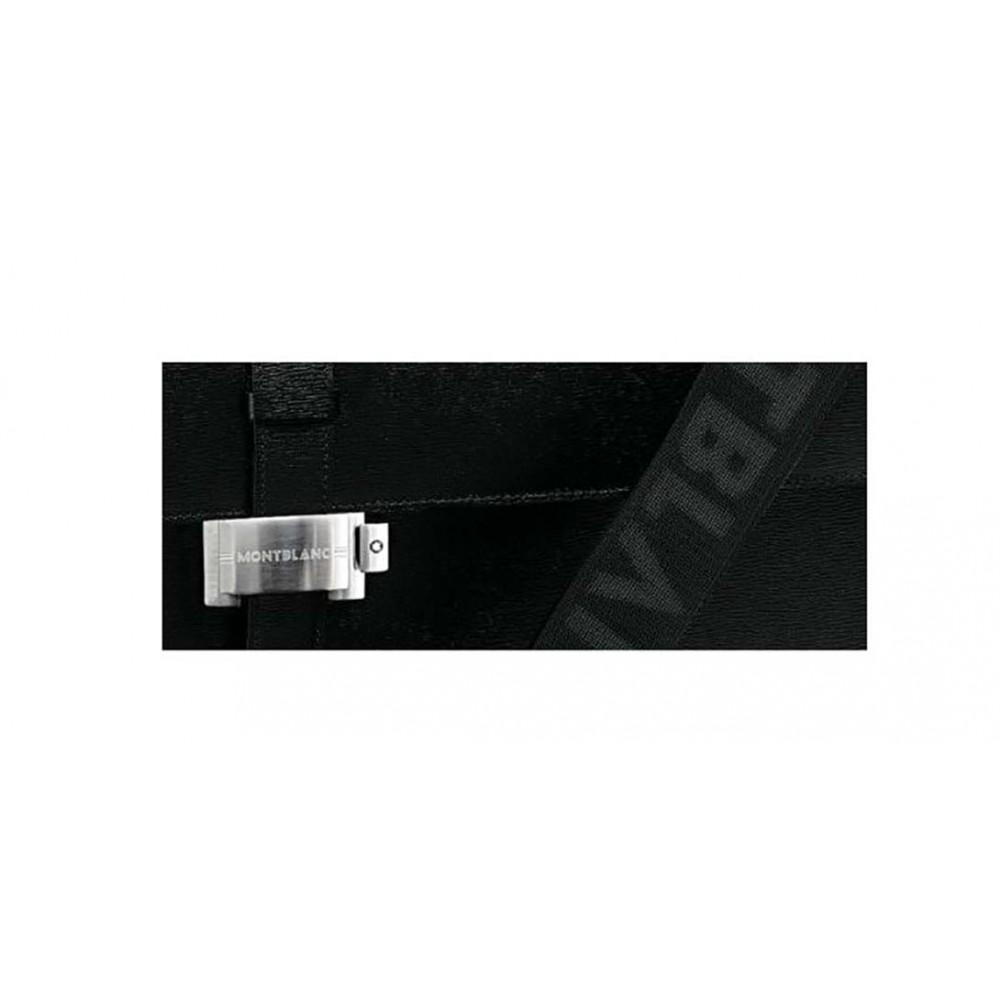 Montblanc 4810 Westside Cartella 1 vano, pelle di vitello nera goffrata MB 7578/N
