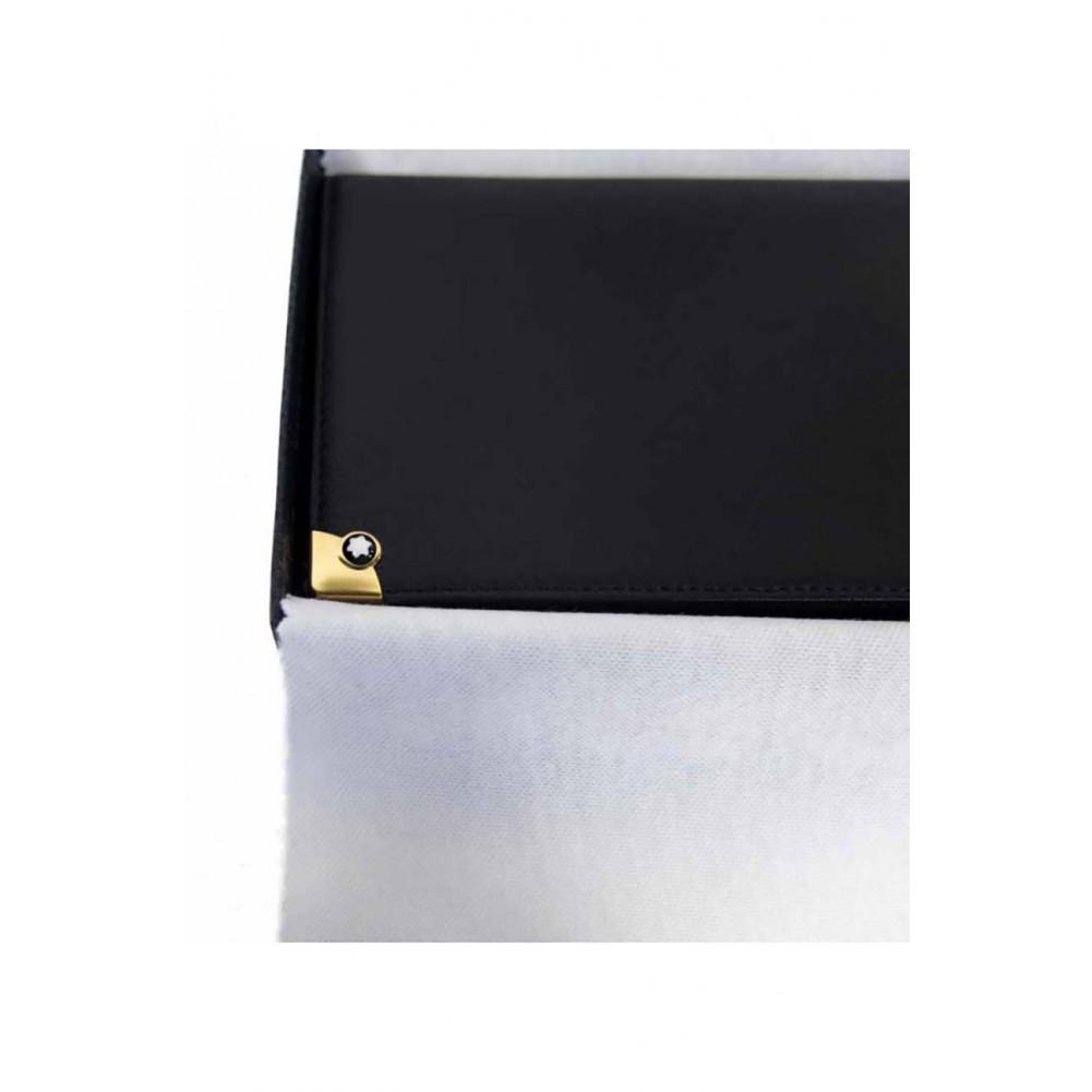Portafoglio 6 scomparti Meisterstuck - pelletteria Montblanc - MB30805