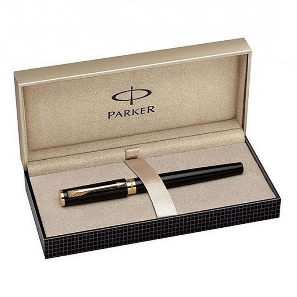 Parker Stilografica Classic Ingenuity slim Black Laquer GT - PA0959100