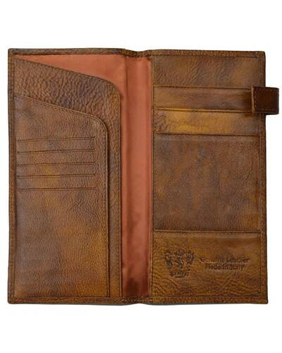 Pratesi Fiorino d'oro leather wallet - B010 Bruce Brown