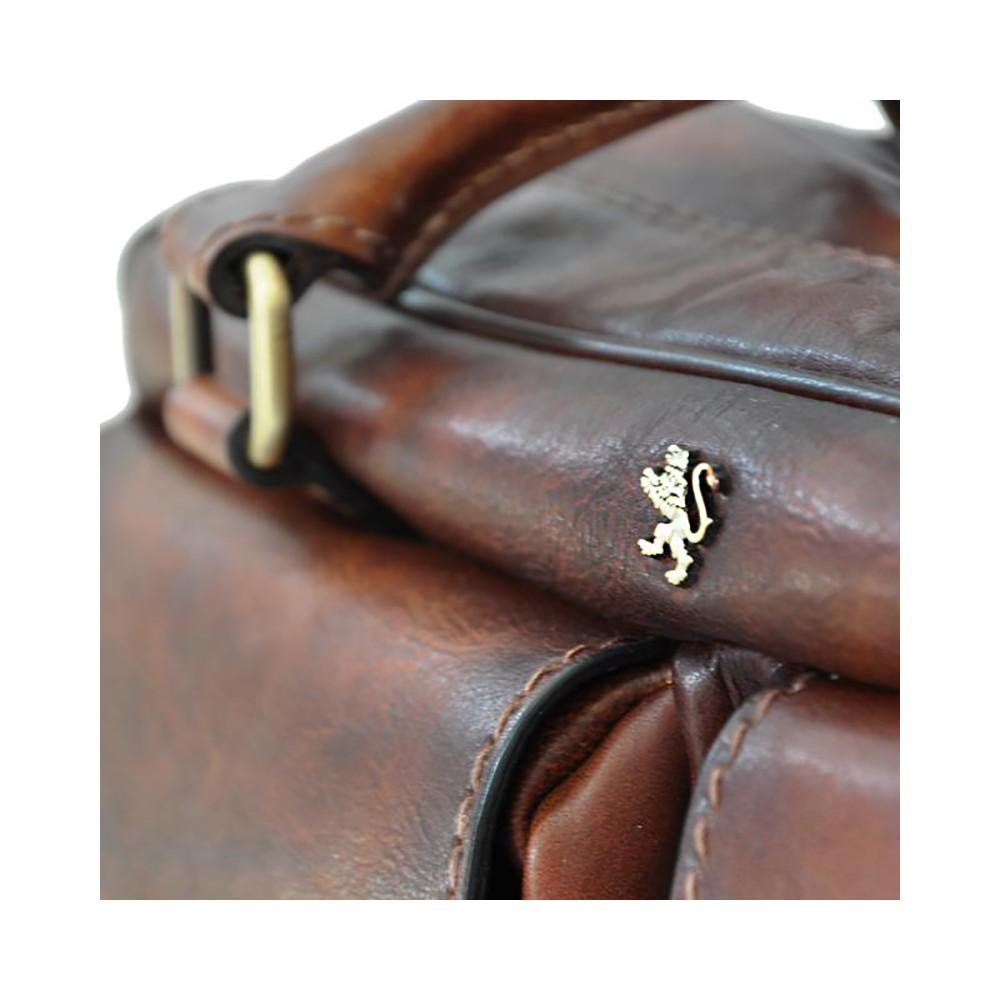 Pratesi Montalcino cartella con due tasche - B228 Bruce Marrone