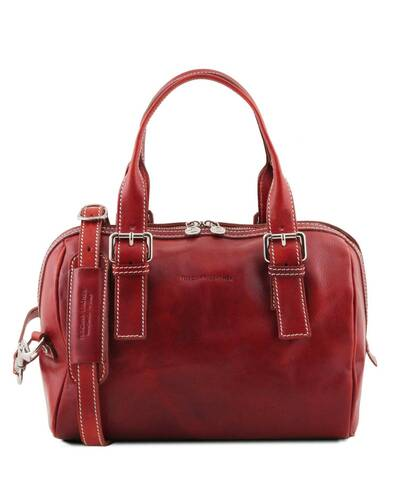 Tuscany Leather Eveline Bauletto in pelle Rosso - TL141714/4