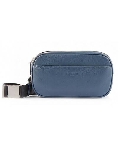 Fedon 1919 - Ohanian - Leather waist pack, Blue - MB1910030/BLU