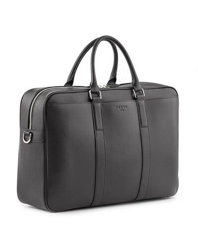 Fedon 1919 - Ohanian - Leather Duffle bag, Black - MB1910025/N