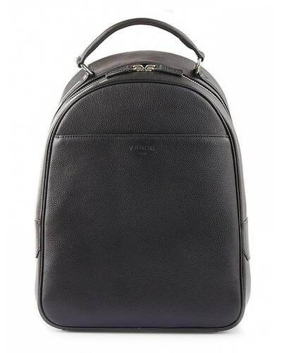 "Fedon 1919 - Ohanian - Leather backpack for 15"" laptop, Black - MZ1910023/N"