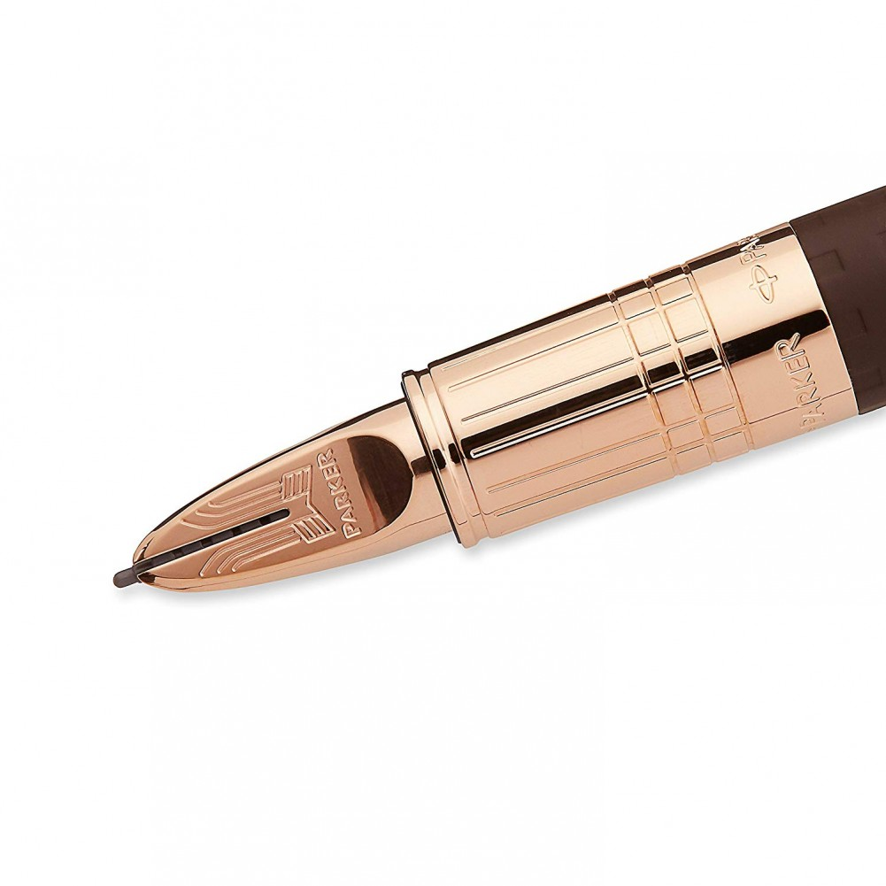 Parker Stilografica Daring Collection Ingenuity Brown Rubber PGT Slim - PA0959130