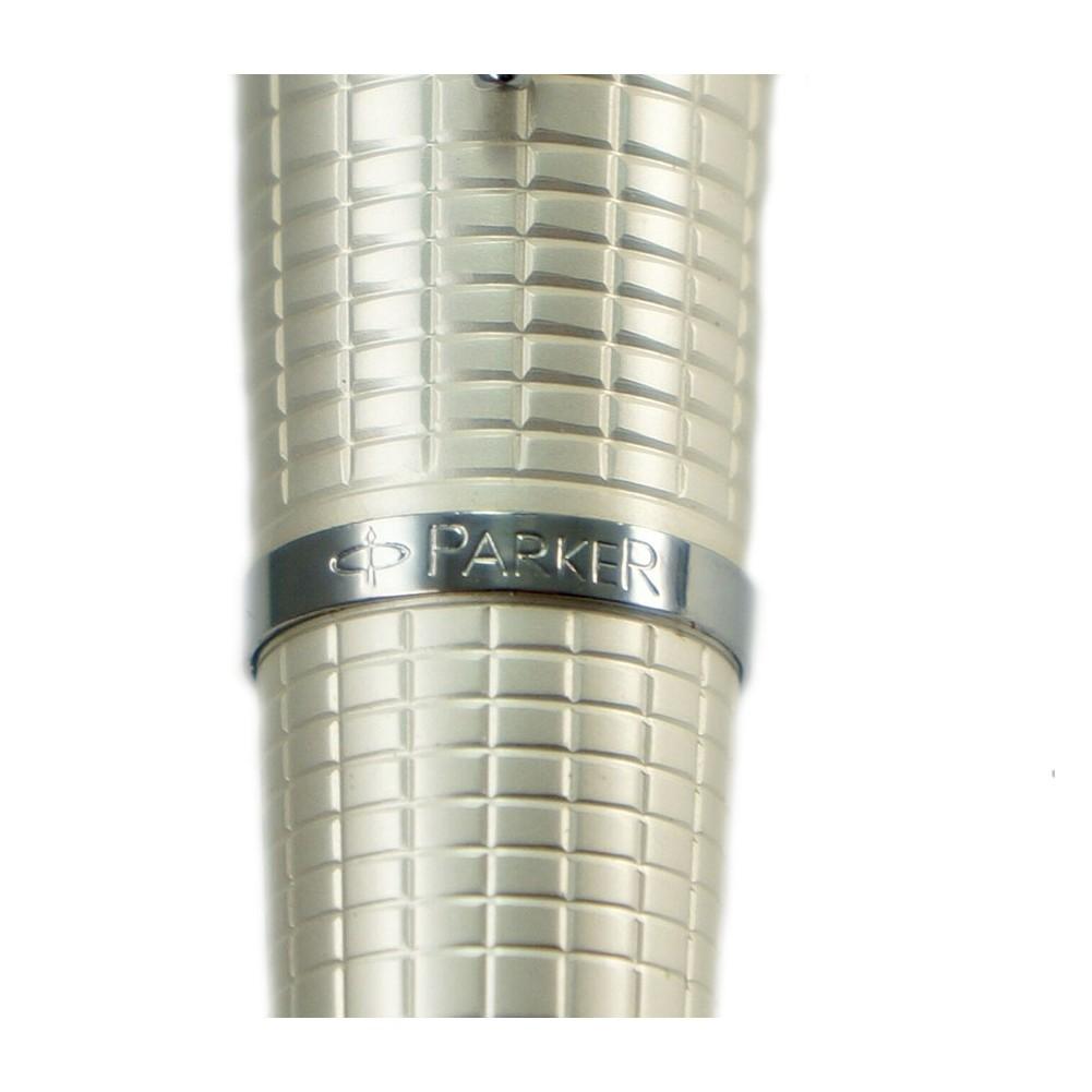 Parker Stilografica Urban Premium Pearl Metal Chiselled - PA0976020