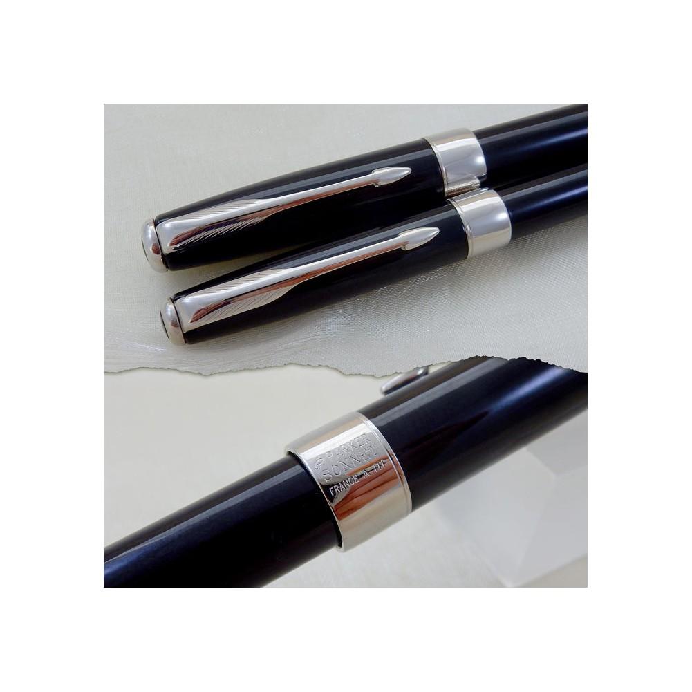 Parker penna a sfera Sonnet Premier Black Lacque CT - PA40833321