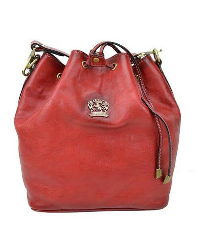 Pratesi Sorano shoulder bag - B501/25 Bruce Cherry