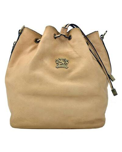 Pratesi Sorano shoulder bag - B501/25 Bruce Cream